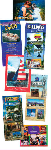 Color Printing, Post Cards, Business Cards, Rack Cards