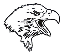 Price  100 00  Eagle Head Stencil
