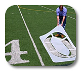 Field Marking Stencils & NCAA Stencil Kits