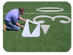 Field Marking Stencils