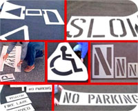 Roadway & Pavement Marking Stencils